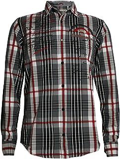 Desigual Hombre Diseñador Camisa - ABC