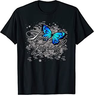 Beautiful Butterfly T Shirt Woman Girl Sister Love yourself