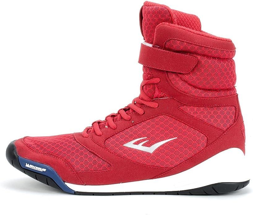 Grey Everlast Ultimate Strike Hi Top Boxing Boots