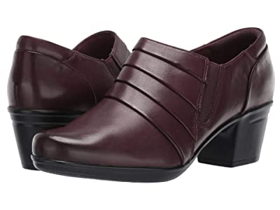 Clarks Emslie Guide (Burgundy Leather) Women