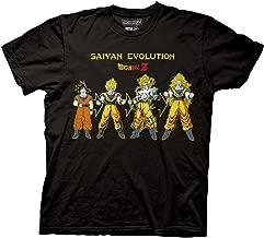 Ripple Junction Dragon Ball Z Goku Saiyan Evolution Adult T-Shirt
