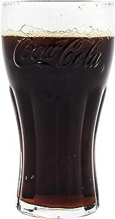 Coca Cola verde gafas 16oz/460ml–juego de 4| gafas de Coca Cola