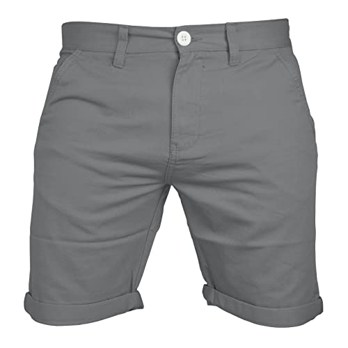 dc8372f3965e9 Mens Chino Shorts Casual 100% Cotton Cargo Combat Half Pant Summer Jeans New