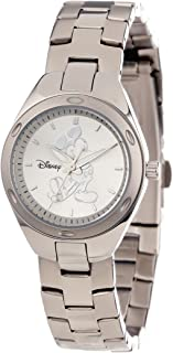 Disney Women's W000487 Mickey Mouse Stainless Steel Bracelet Watch