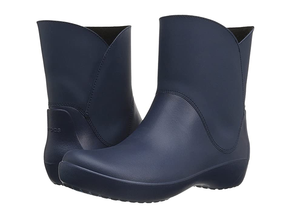 Crocs RainFloe Bootie (Navy) Women