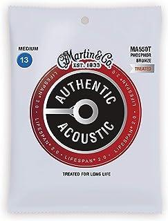 Cuerdas para guitarra acústica Martin Strings, Mediano, Med
