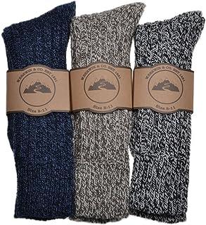 3 pares de calcetines gruesos y cálidos para hombre.