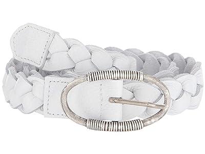 Leatherock Juno Belt (White) Women