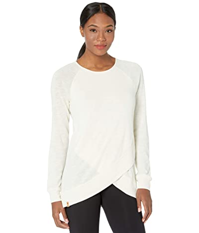 tentree Acre Long Sleeve (Elm White Marled) Women