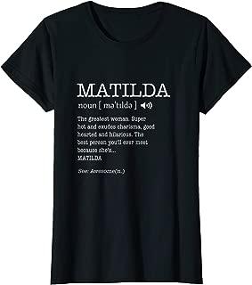 Best matilda t shirts Reviews