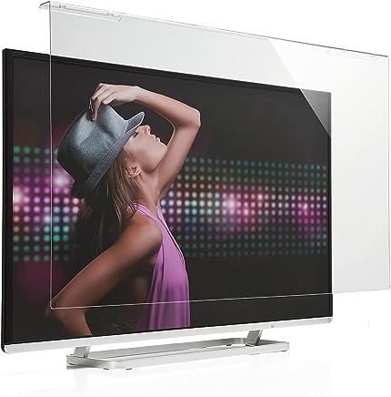 サンワダイレクト 液晶テレビ保護パネル 55インチ対応 アクリル製 テレビガード クリア 200-CRT018