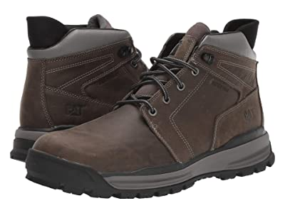 Caterpillar Casual Cohesion Ice+ Waterproof TX (Dark Gull Grey) Men