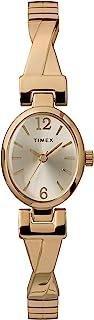 ساعة Timex النسائية العصرية القابلة للتمدد 21 مم