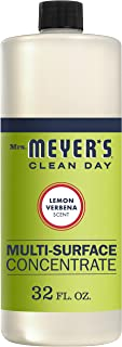 Mrs. Meyer's Clean Day Multi-Surface Cleaner Concentrate, Use to Clean Floors, Tile, Counters,Lemon Verbena Scent, 32 oz
