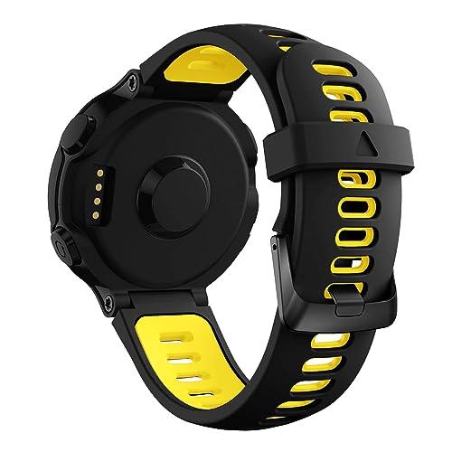 YaYuu Garmin Forerunner 735XT Bracelet de Remplacement, Bande de Montre en Silicone Watch Band Outils Forerunner 235/220/230/620/630/735XT Montre de Running GPS
