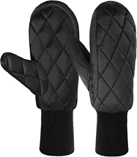 90% Duck Down Mittens Gloves For Women -20℉ Cold Weather Warm Winter Snow Gloves For Walking Jogging Work Outdoor
