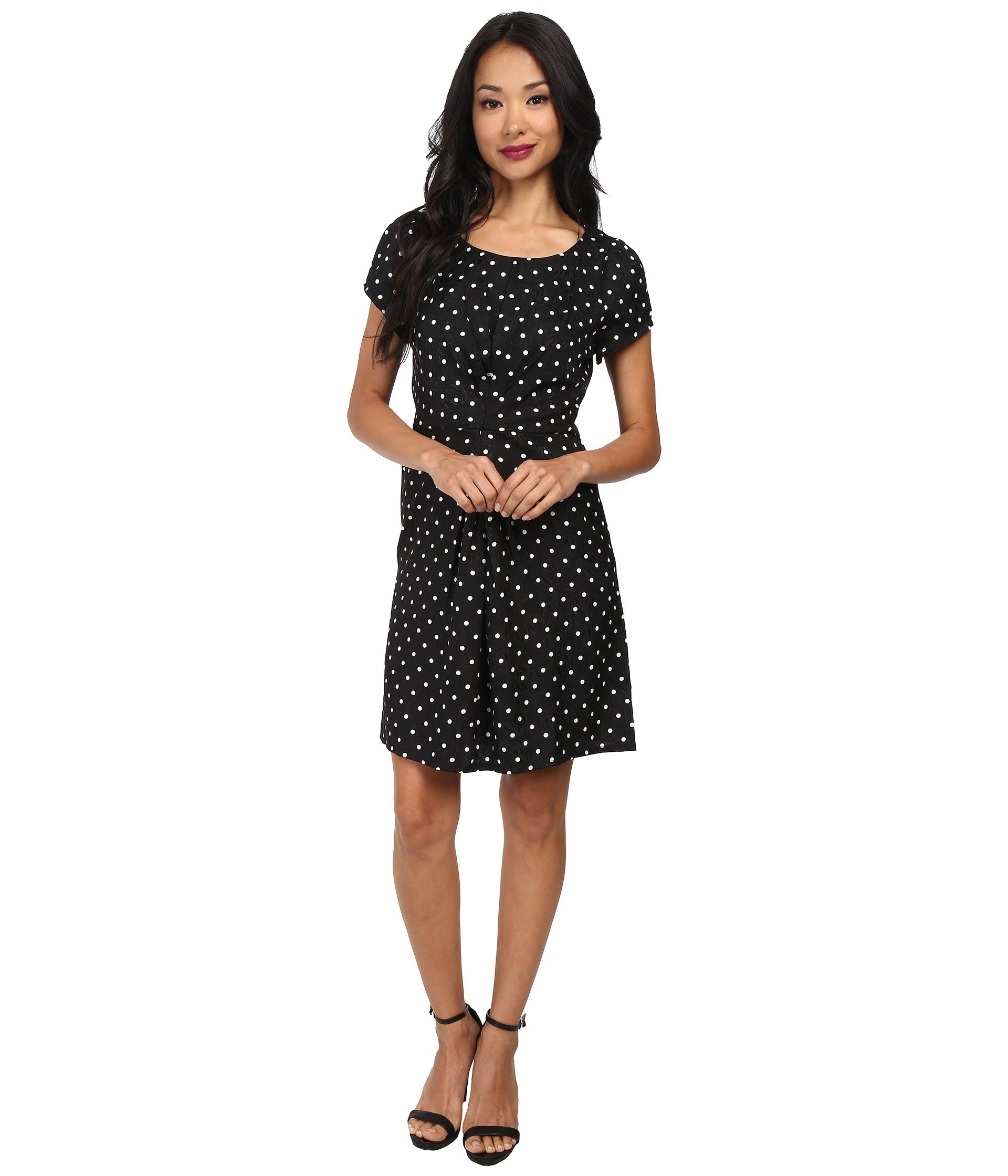 Vestido para Mujer Yumi Spotty Pleat Dress  + Yumi en VeoyCompro.net