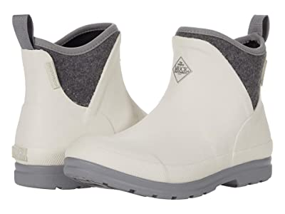 The Original Muck Boot Company Muck Originals Ankle (White/Grey Wool) Women