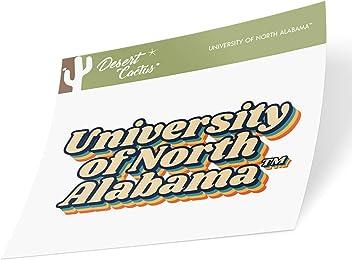 Marble Flag Desert Cactus University of North Alabama UNA Lions NCAA 100/% Polyester Indoor Outdoor 3 feet x 5 feet Sign Decor