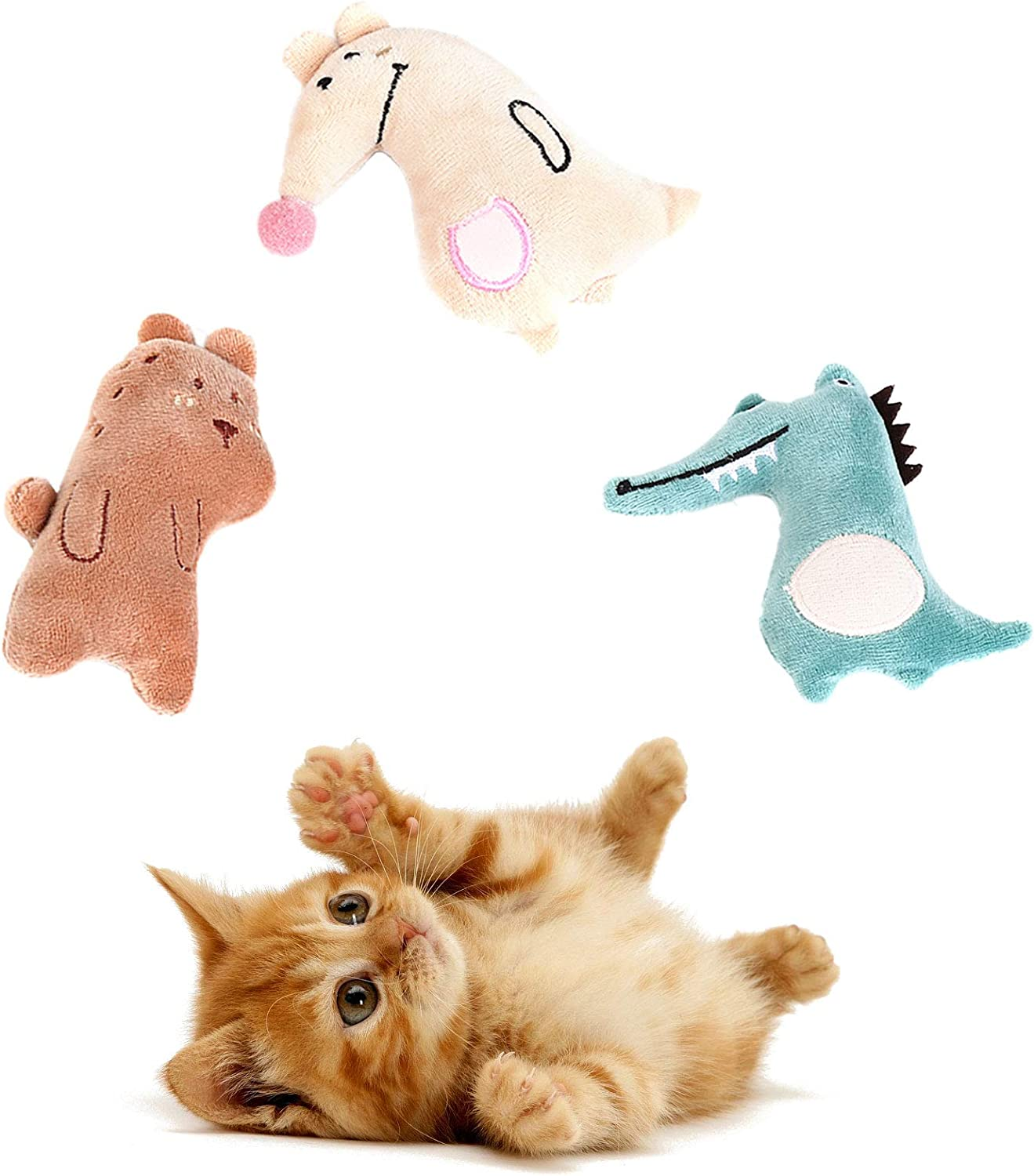Cute Paws Christmas Cat Toy Gifts Max 83% OFF Stocking Set Intera Kitten Free shipping on posting reviews