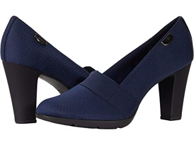Anne Klein Xcited (Navy Matte Stretch) Women