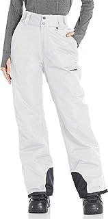Snow Pantalones de Nieve para Mujer (Talla L), Color Blanco, Large