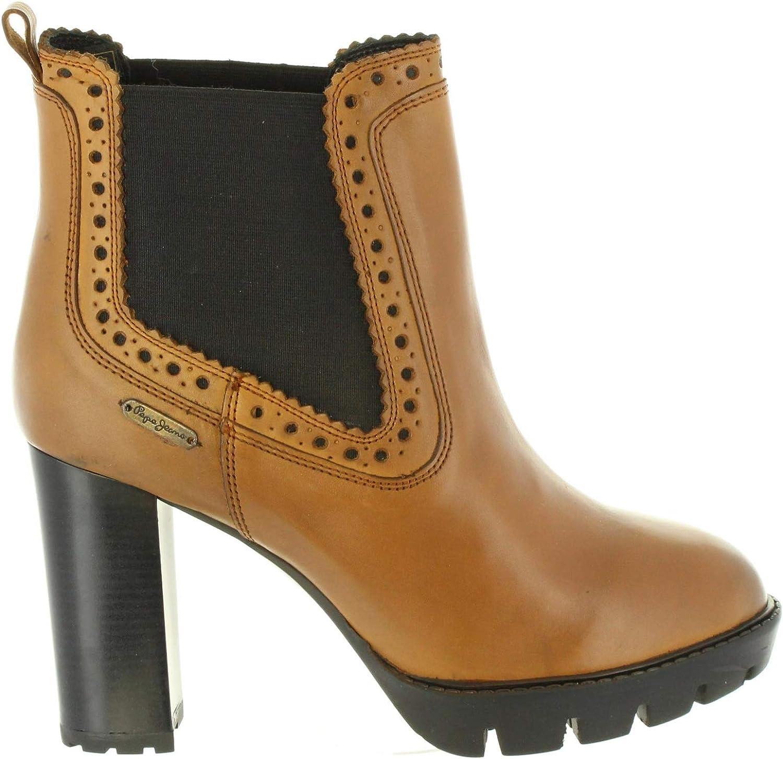 Pepe Jeans Stiefel für Damen PLS50326 Vernon 877 NUT
