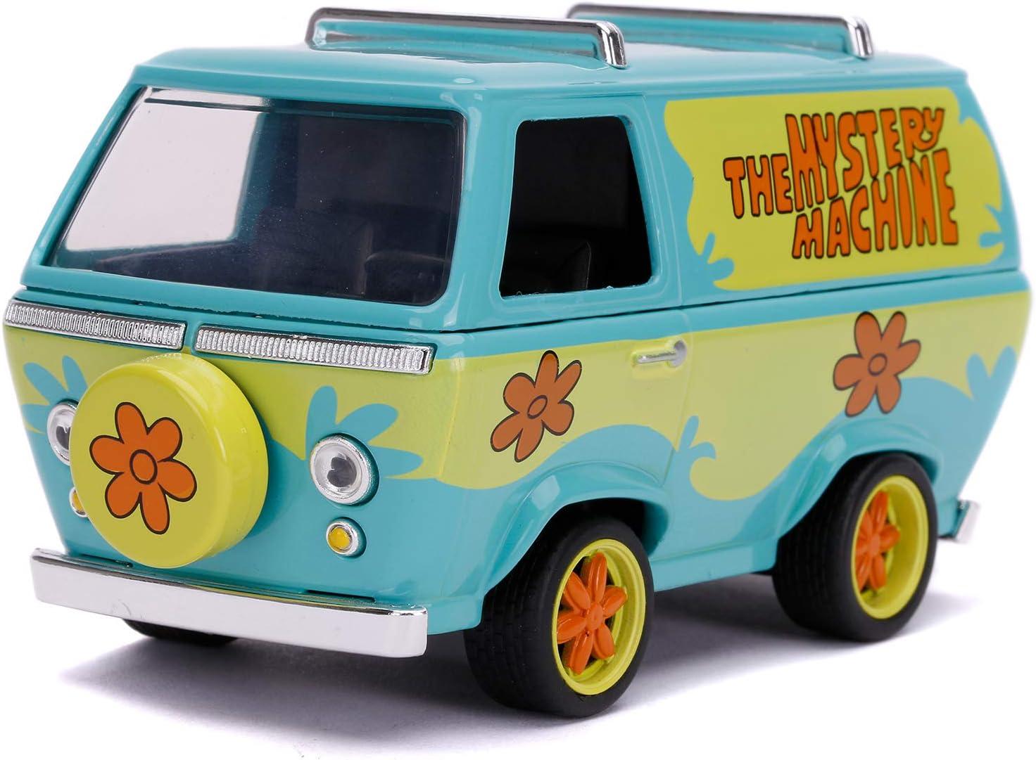 Jada-253252011 Furgoneta Escala 1:32 Scooby Doo Mistery Machine, Multicolor (253252011)