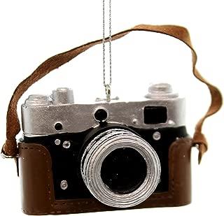 Kurt Adler Classic Camera Ornament, Brown