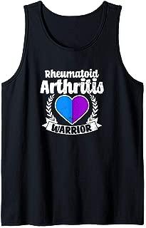 Rheumatoid Arthritis Design Warrior Heart Gift Tank Top
