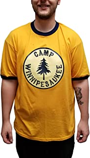 Camp Winnipesaukee Ringer T-Shirt Costume Tonight Show Jimmy Fallon Justin Skit