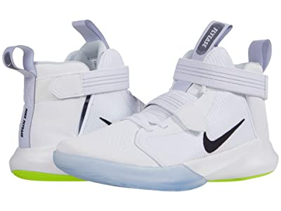 Nike FlyEase Precision III (White/Black/Pure Platinum/Volt) Men