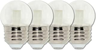 Westinghouse Lighting 4511320 7.5-Watt Equivalent S11 Clear LED Light Bulb with Medium Base, Four Pack