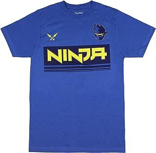 Ninja Shirt Men's NinjasHyper Logo Ninja YouTube T-shirt