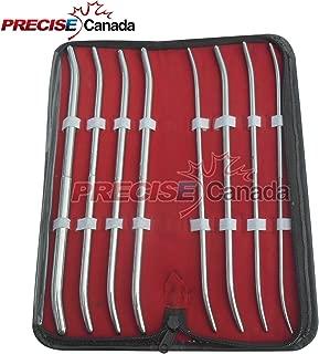 PRECISE CANADA: NEW PREMIUM GRADE PRATT DILATOR SOUNDS 8 PIECES SET CURVED