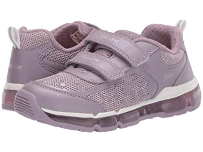 Geox Kids Android 26 (Little Kid/Big Kid) (Light Purple) Girl