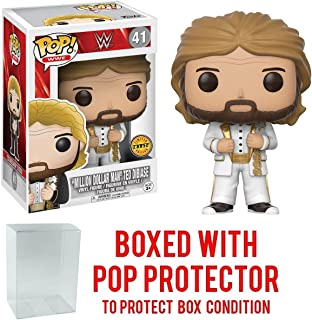 Funko Pop! WWE Million Dollar Man Ted Diabase CHASE VARIANT Vinyl Figure (Bundled with Pop BOX PROTECTOR CASE)