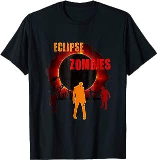 Total Solar Eclipse Scary Zombie Apocalypse Creepy T-shirt