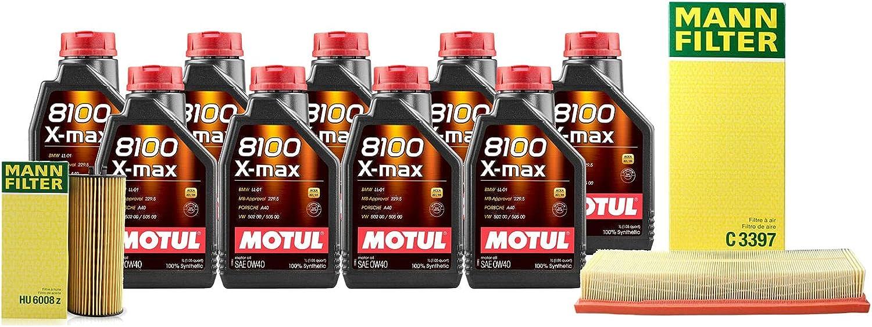 9L 8100 XMAX 0W40 Filter Motor Air Finally resale start Change W221 4.6L S550 Oil Popular kit