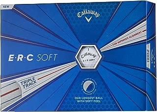 Callaway(キャロウェイ) ゴルフボール E・R・C SOFT 1ダース(12個入り) 2019年モデル