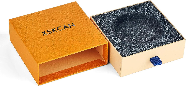 XSKCAN Natural Round Jade Bangle Bracelet for Women, SYY-R6-G