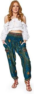 Happy Trunks Harem Pants - Flowy, Baggy Sweatpants for Women - Hippie Clothing