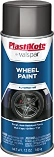 PlastiKote 626 Charcoal Gray Wheel Paint - 12 oz.