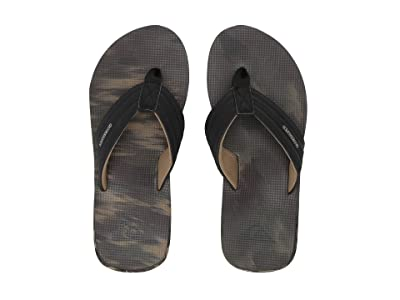 Quiksilver Island Oasis (Black/Brown/Green) Men