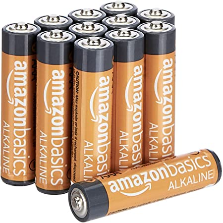 Amazon Basics AAA Performance Alkaline Batteries (12-Pack) - Packaging May Vary