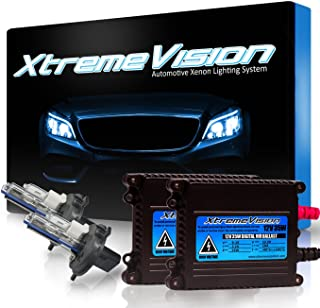 XtremeVision 35W Xenon HID Lights with Premium Slim Ballast - H4 / 9003 5000K - 5K Bright White - 2 Year Warranty