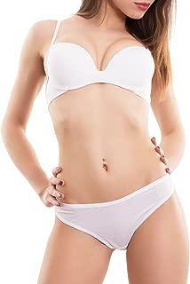 Completo donna intimo lingerie reggiseno slip velato rosso nuovo 2682-MOD