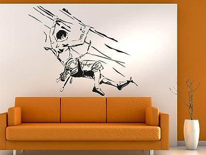 409 - Adhesivo decorativo para pared (133 x 110 cm), diseño ...