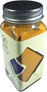 Spice Monger Organic Turmeric Powder, Ground (1.8 OZ) USDA Certified, All Natural from Sri Lanka