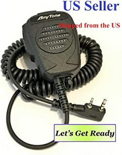 AnyTone Speaker MIC for AT-D878/868 Series DMR/Analog Radio, Also for Kenwood K Type Connector Walkie Talkie Radio.